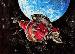 Santa Spaceship
