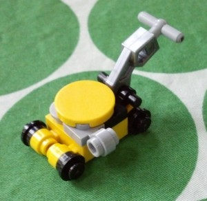 Tiny Lego Lawnmower