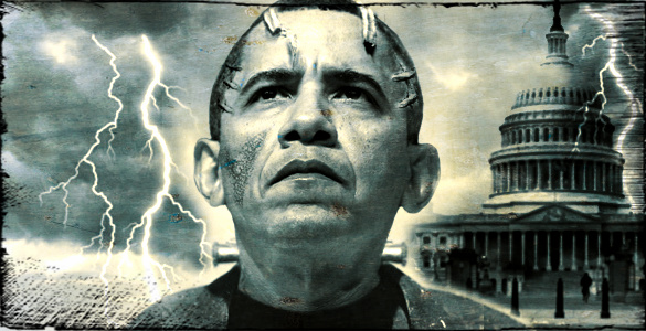 Obama Frankenstein - ObamaCare