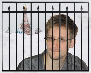 Snowden Russia Fence