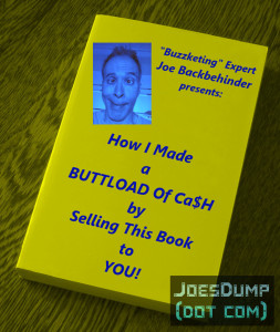 Joe's Dump: Joe Backbehinder Book