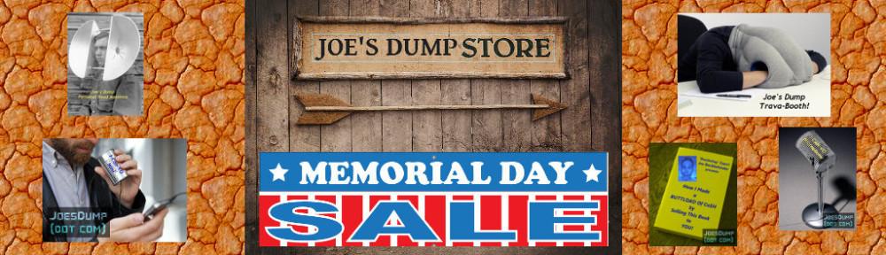 Joe's Dump Store Banner