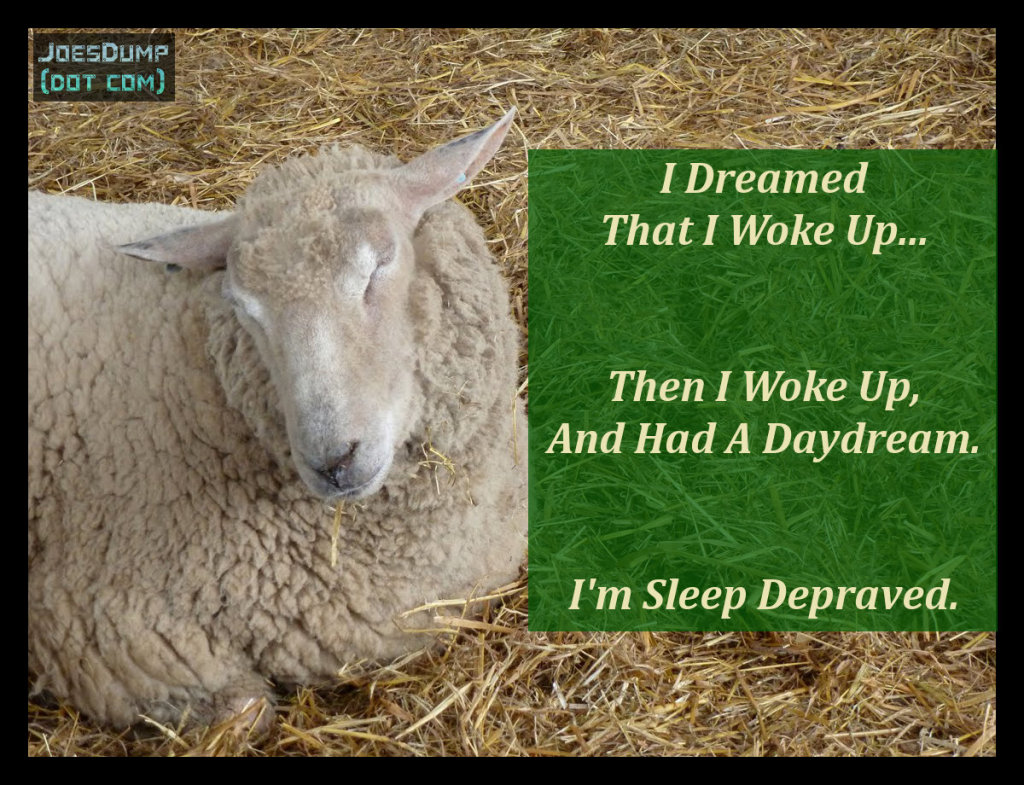 Sleep Depraved quote