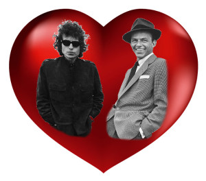 Bob Dylan and Frank Sinatra