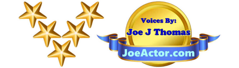 Five Star VO JoeActor Banner