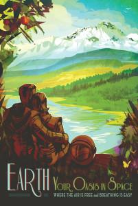 Nasa: Earth Poster