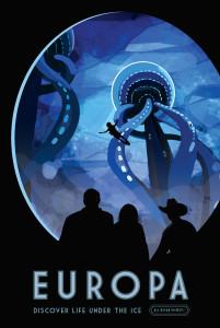 Nasa: Europa Poster