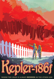 Nasa: Kepler-186f Poster