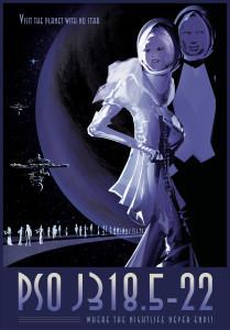 Nasa: PSO-J318.5-22 Poster