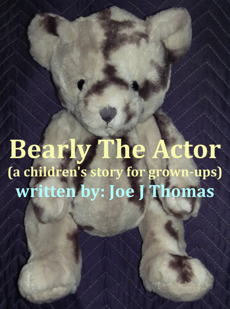 Bearly The Actor - Book Cover