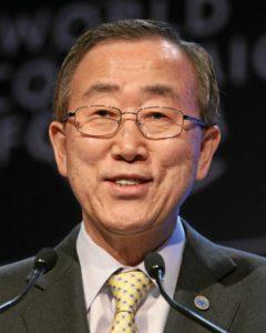 Ban Ki-moon - face
