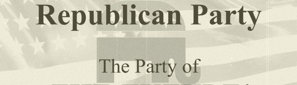 Republican Party of the Future! - Joe's Dump