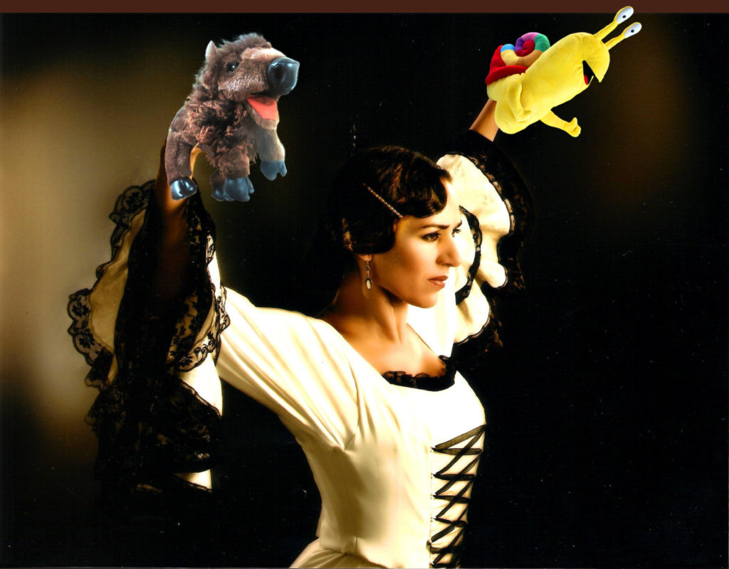 Puppet Flamenco Woman - Bison Snail