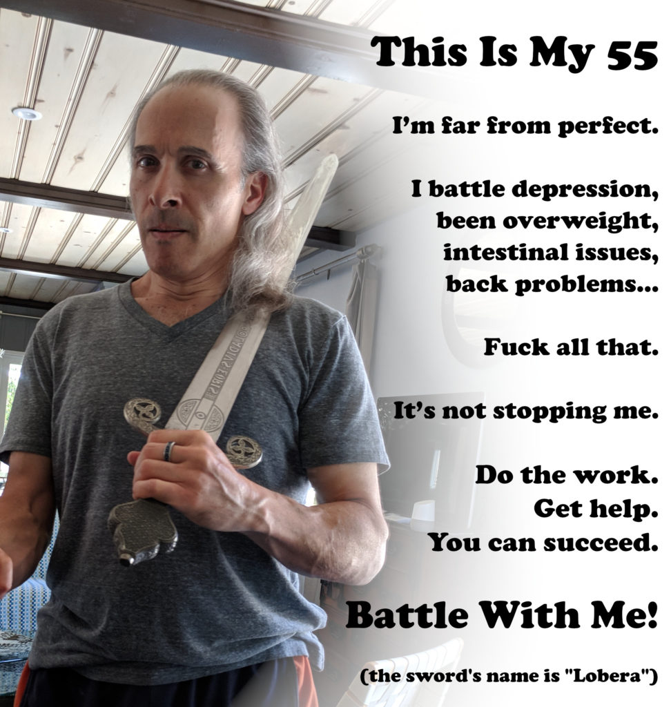 Battle With Me! 55 YO JoeActor