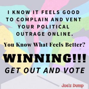 VOTE Poster: Joe's Dump