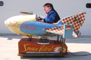 Trump in a Rocket Ride - Joe's Dump