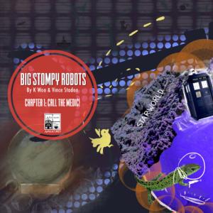 Afternoon Tea Adventures: Big Stompy Robots