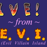 Live! from E.V.I.L. - Title Card