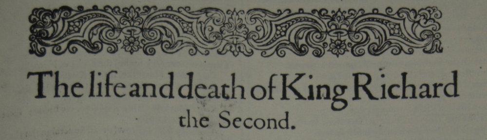 Richard II - banner