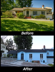 Front Yard - Before and After