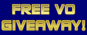 Free VO Giveaway!