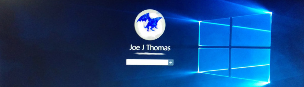 Windows 10 Login Banner