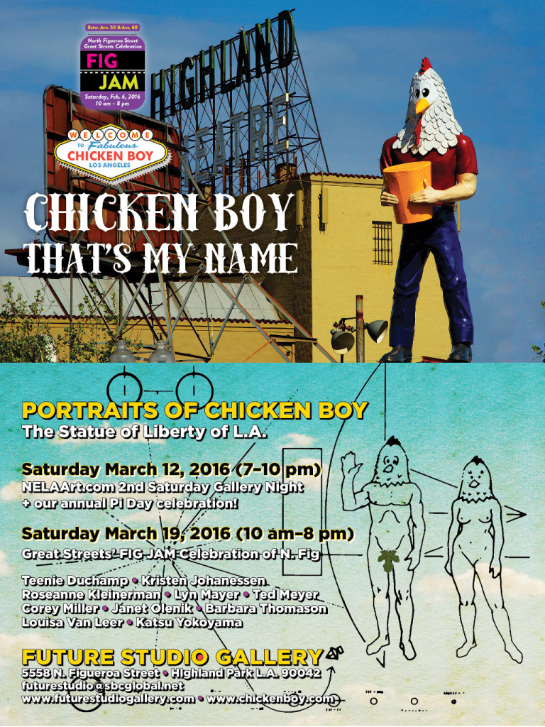 Chicken Boy: Gallery Shows