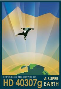 Nasa: HD-40307g Poster