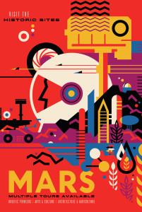 Nasa: Mars Poster