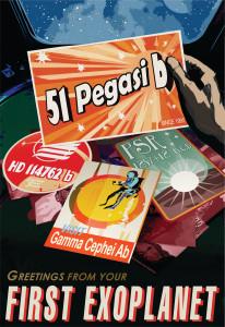 Nasa: Peg-51 Poster