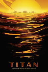 Nasa: Titan Poster