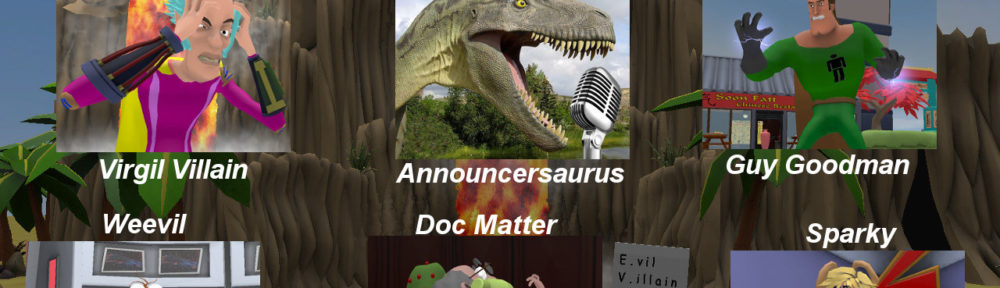 Live! from E.V.I.L. characters