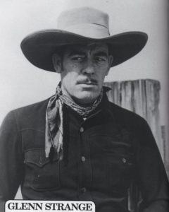 Glenn Strange: Cowboy