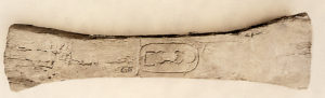 Cramp (clamp?) from Egypt, Pyramid Temple of Senwosret I