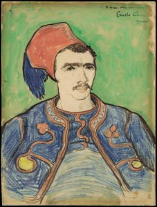 The Zouave by Vincent van Gogh