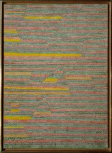 Monuments at G. by Paul Klee (German 1879–1940)