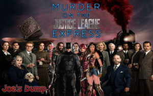 Murder on the Justice League Express - Movie Poster