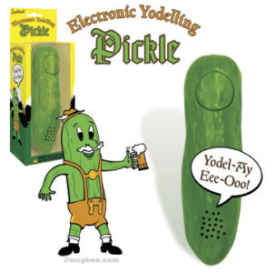 Yodelling Pickle by Archie McPhee