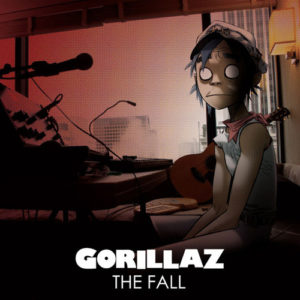 Gorillaz - The Fall - Front Cover