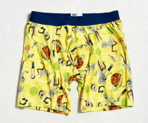 Rick and Morty Underwear