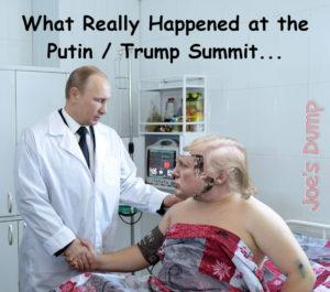 Trump Putin Summit: Joe's Dump