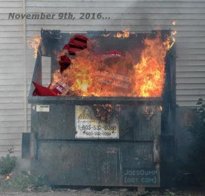 Trumpster Fire: Joe's Dump
