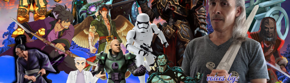 Joe J Thomas: Characters (JoeActor.com)