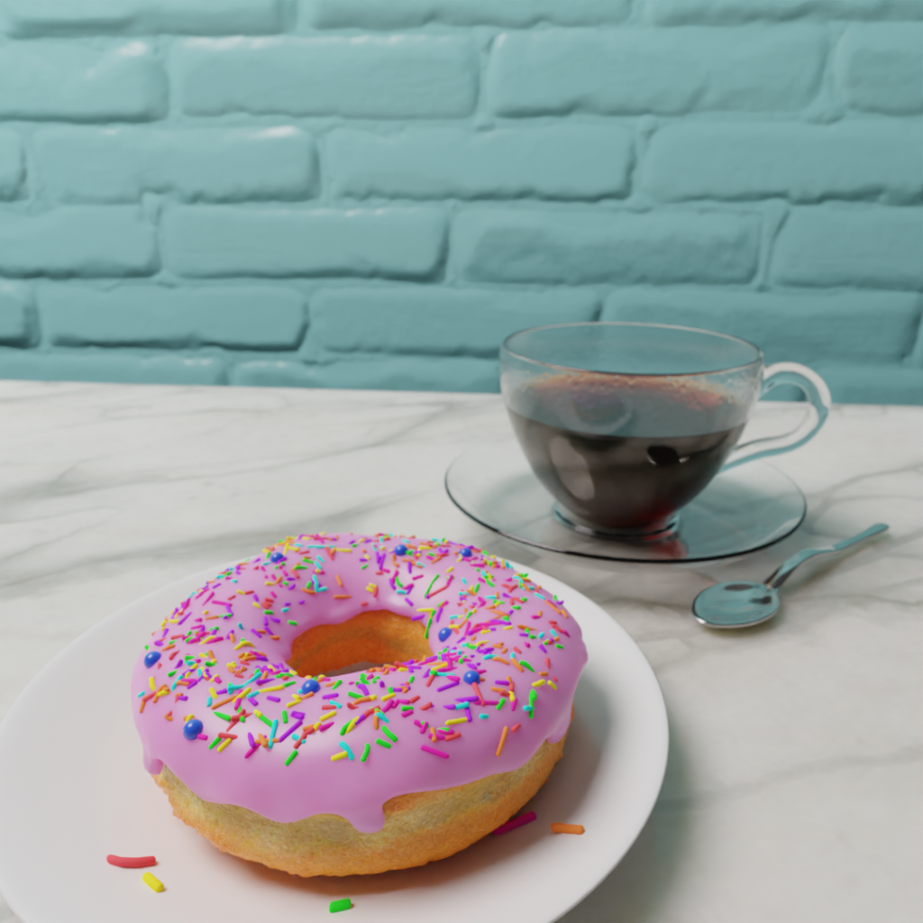 Joe-Nut Donut (Blender)